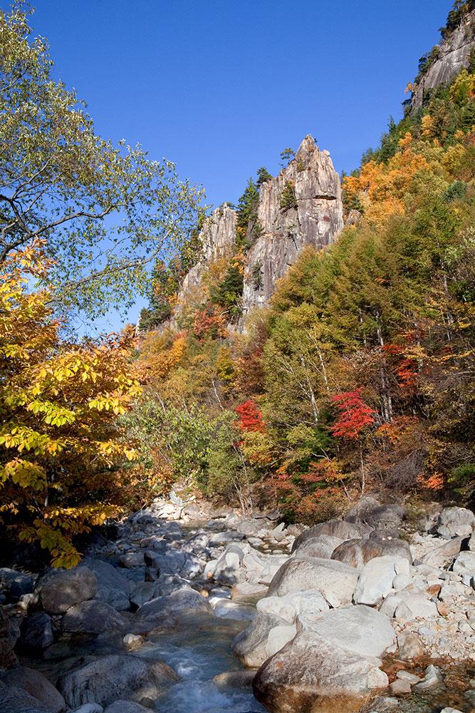 川上村 金峰渓谷