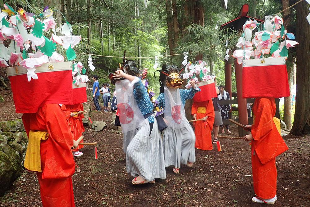 小菅村 伝統芸能