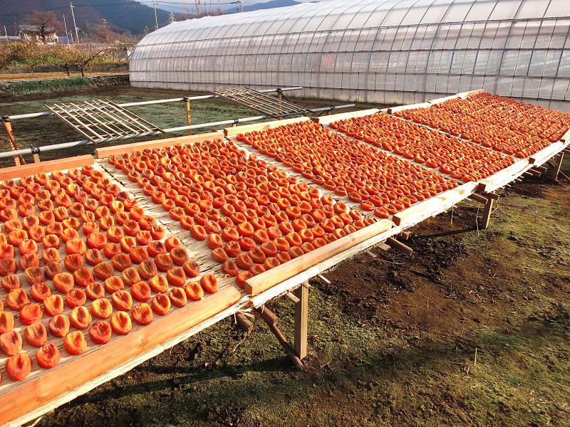 甲州市 ころ柿