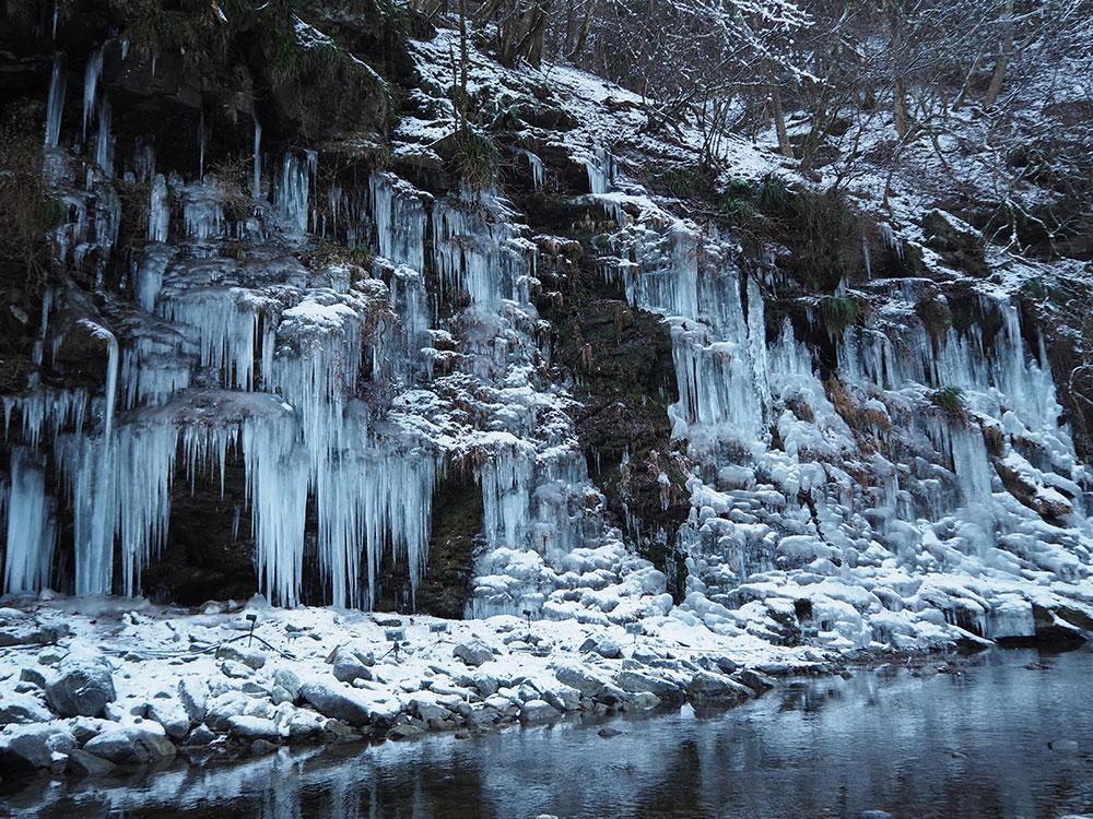 秩父 三十槌の氷柱
